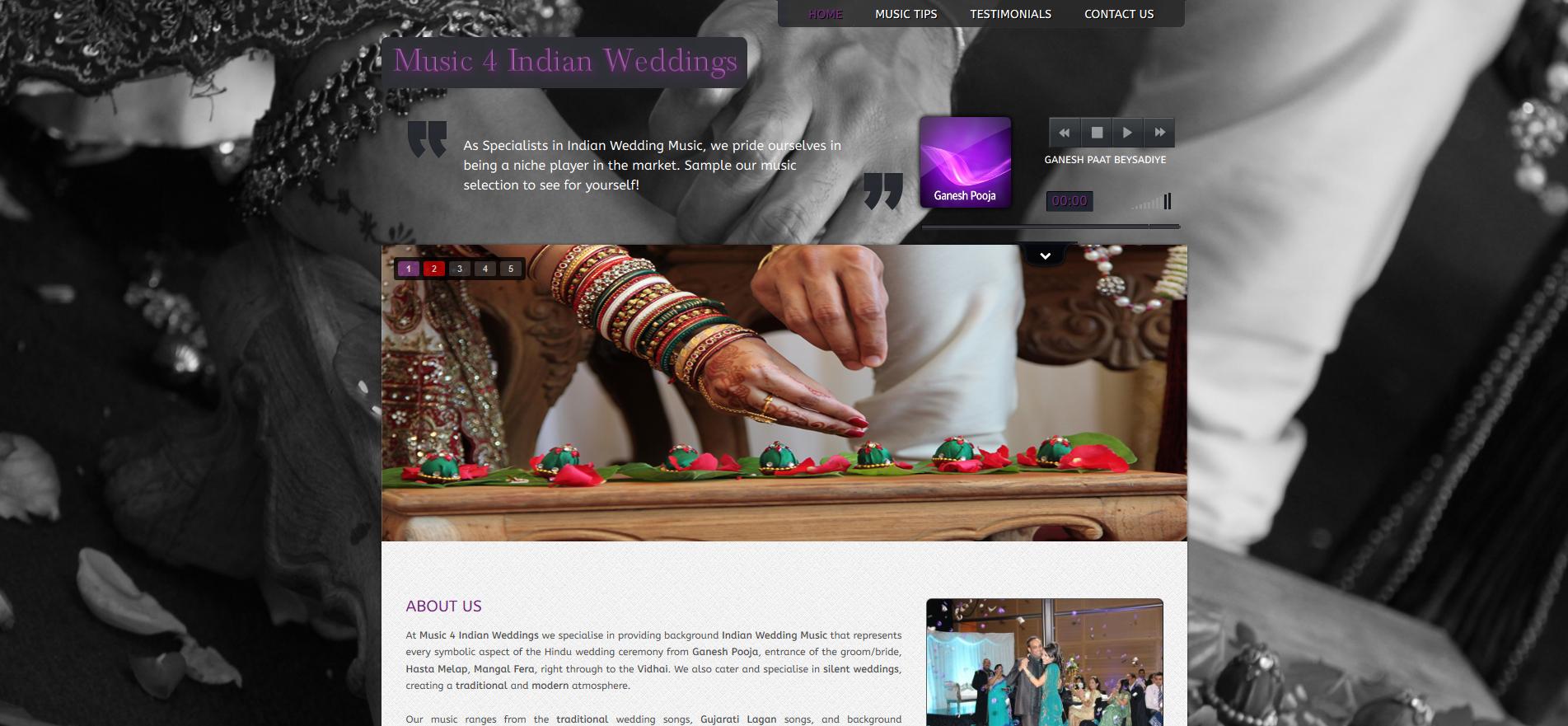 www.music4indianweddings.co.uk